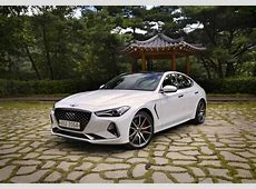 2018 Genesis G70 Review and First Drive AutoGuidecom