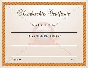 15 Best Membership Certificate Template Images On
