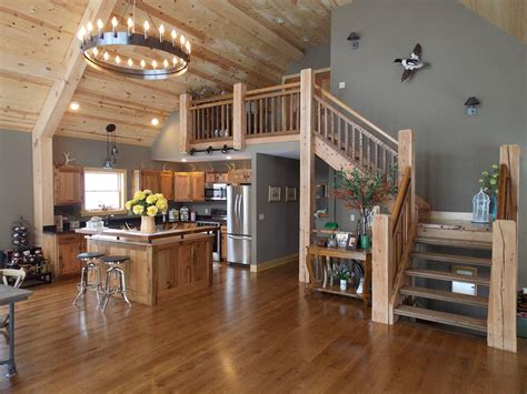 open concept living space lofty mountain homes