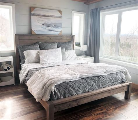 Bedroom Set Plans by White Simple Modern Bedside Table Diy Projects