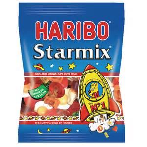 haribo starmix 160g bag pack of 12 73073