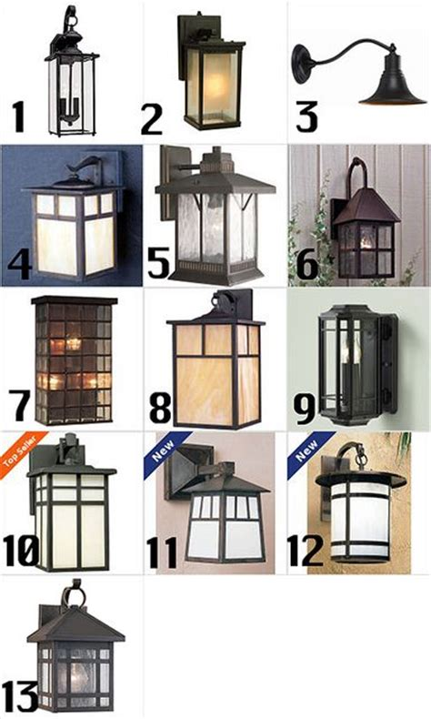craftsman style outdoor lighting craftsman homes