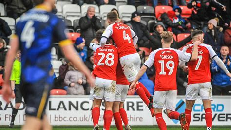 Watch: Fleetwood Town 2-1 Doncaster Rovers highlights ...