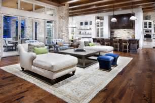 fresh open floor plan living room ideas open plan living kitchen hill country modern in