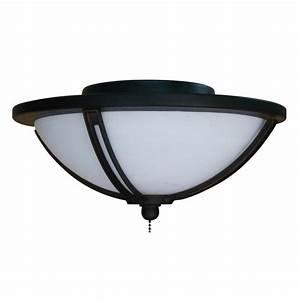 Harbor breeze light bronze ceiling fan kit