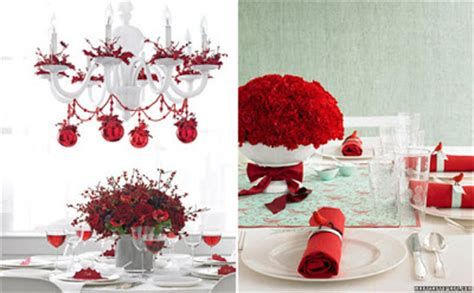 Decorando O Natal O Natal Pede O Tradicional Vermelho
