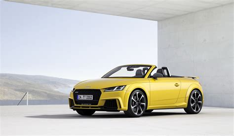 2017 Audi Tt Rs Roadster Coupe Bring Five Cylinders With