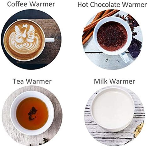 Get fast shipping from webstaurantstore today! Coffee Mug Warmer, 4 Hours Auto Shut-Off Plate For Office ...