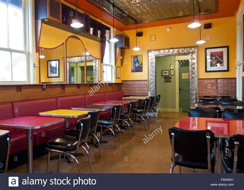 Retro Diner Like Interior Of The Useless Bay Coffee
