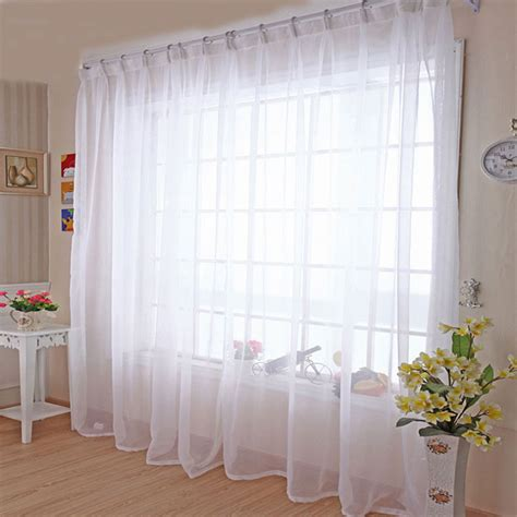 sheer white curtain panels voile panels curtains reviews shopping voile