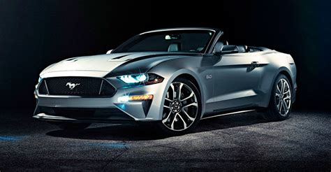 ford mustang convertible revealed