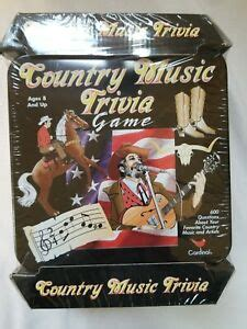 Challenge your friends to a classique game of trivia! Country Music Trivia Game, Tin Box, Cardinal No. 42500, BRAND NEW IN SHRINKWRAP 47754425000 | eBay