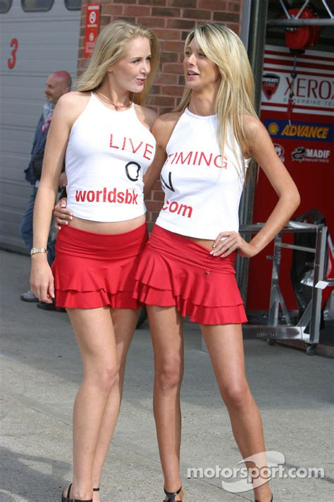 Grid Girls At Brands Hatch
