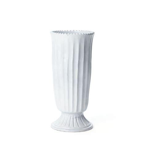 "VIETRI 'Incanto' Collection ""Stripe"" Footed Vase 5"