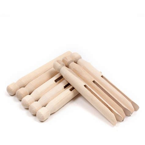 wooden dolly pegs  pack hobbycraft