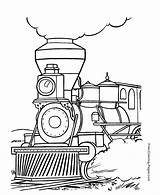 Coloring Train Trains Printable sketch template