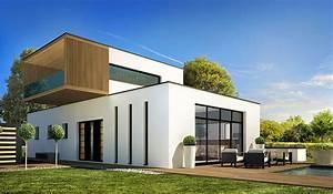 Maison contemporaine 100m2 avie home for Wonderful plan maison en l 100m2 1 architecte alain doudet maison contemporaine batz sur