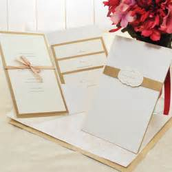 wedding invitation kit 25 cool diy wedding invitation