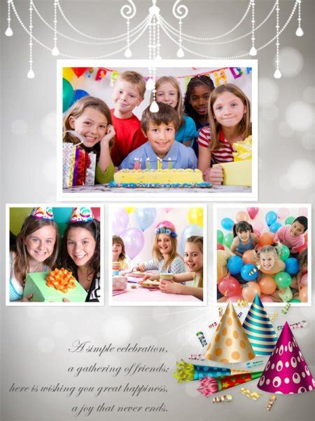 birthday collage maker  happy birthday photo collage