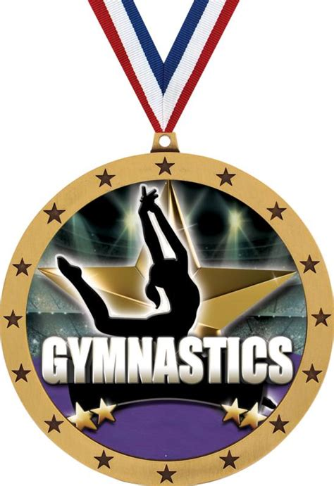 colossal insert gymnastics medals  colossal