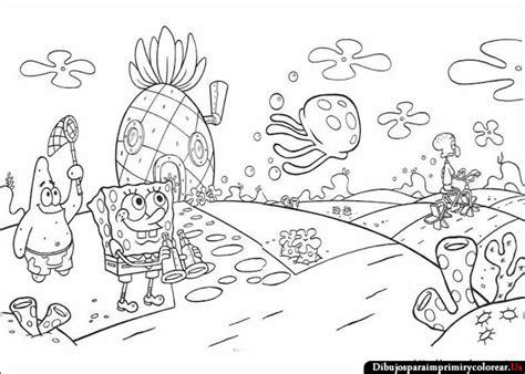 10. Dibujos De Bob Esponja Para Imprimir Y Colorear