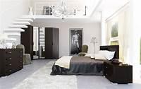 black and white bedroom Black & White Interiors