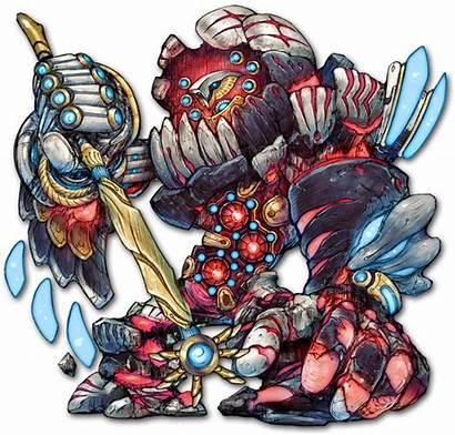 Golem Destruction Battle Terra Monster Wikia