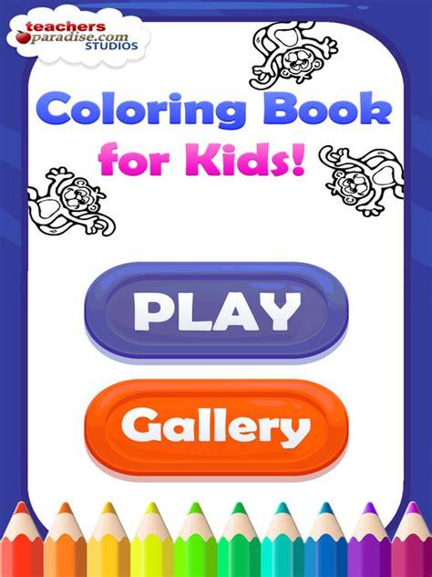 app shopper coloring book  kids coloring games books
