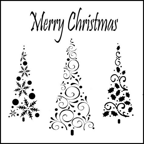 christmas card stencils tech design studio christmas cards 2013 day 3 merry