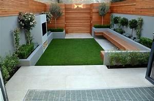amenagement jardin 105 photos pour votre petit coin de With amenagement petite terrasse exterieure