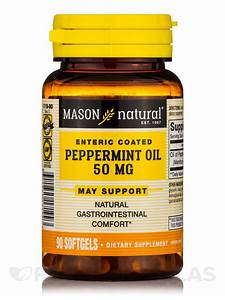 Peppermint Oil 50 Mg Enteric Coated