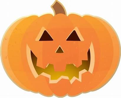 Pumpkin Halloween Clip Clipart Face Happy Carving