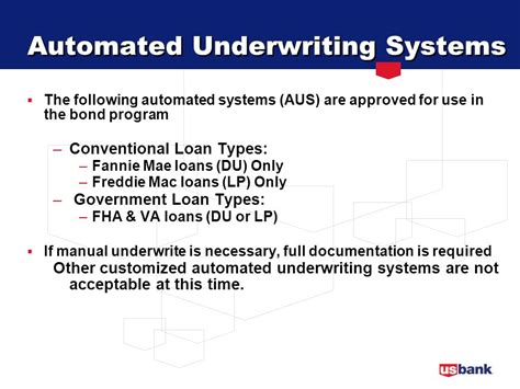 Va Underwriting Guidelines