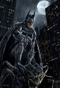 Batman. Orphan. And the hero's view of the city from up ...