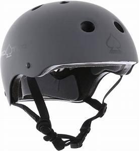 Protec Classic Certified Eps Skate Helmet Matte Grey