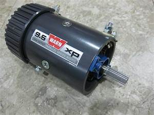Warn 68608 New Replacement Electric Winch Drive Motor 9