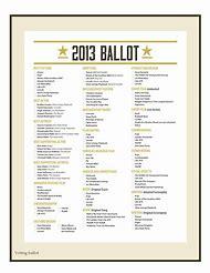 printable voting ballot template