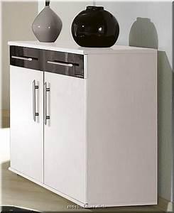 Kommode Klein Weiß : komplettes schlafzimmer dublin hochglanz weiss schwarz ebay ~ Fotosdekora.club Haus und Dekorationen