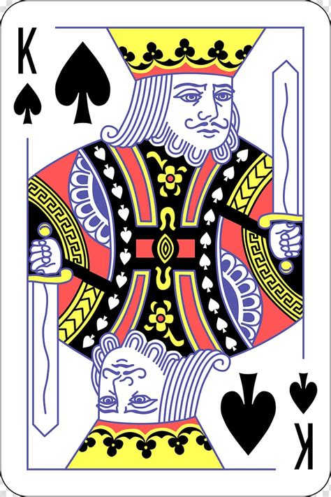 king  spade playing card king  spades playing card