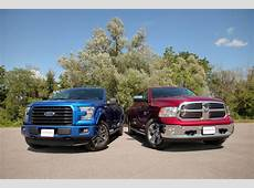 2015 Ford F150 27L EcoBoost vs 2015 Dodge Ram 1500