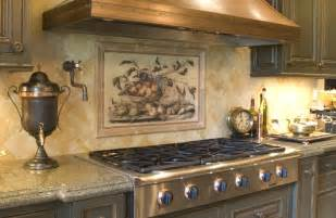 beautiful backsplash murals your kitchen look fantastic modern home design gallery