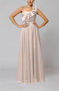 light pink gorgeous sheath one shoulder sleeveless floor With mid length dresses for wedding guests