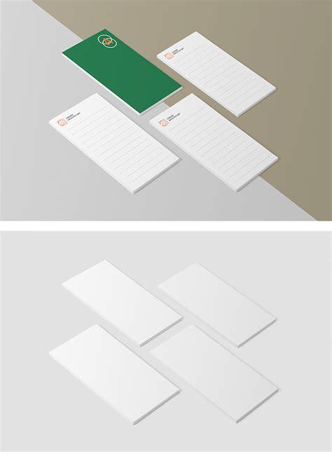 psd mockup  notepads designhooks