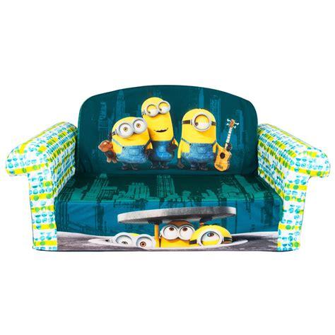 Disney Nickelodeon Marvel Kids Foam Flip Open Sofa Free