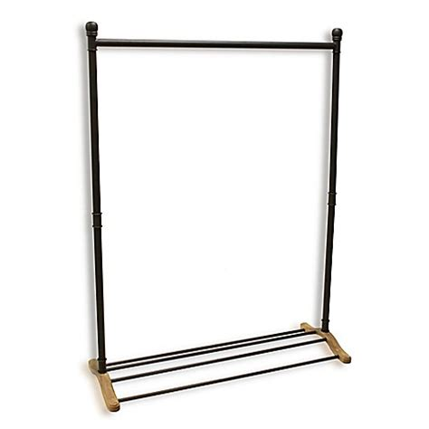 metal clothing racks refined closet metal garment rack bed bath beyond