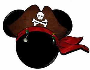 Imagens, Molduras e Rótulos para festa do Mickey Pirata ...