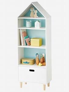 Meuble De Rangement Case : meuble de rangement maison 5 cases blanc vertbaudet ~ Melissatoandfro.com Idées de Décoration