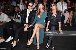 Matthew Morrison, Renee Puente and Carine Roitfeld attend ...