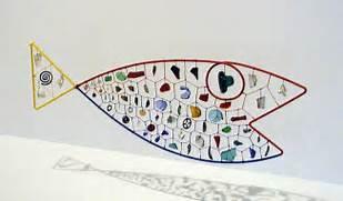 Alexander Calder Wire Sculptures