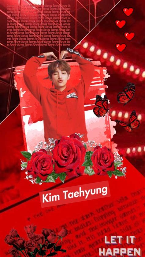 bts red aesthetic wallpapers wallpaper cave